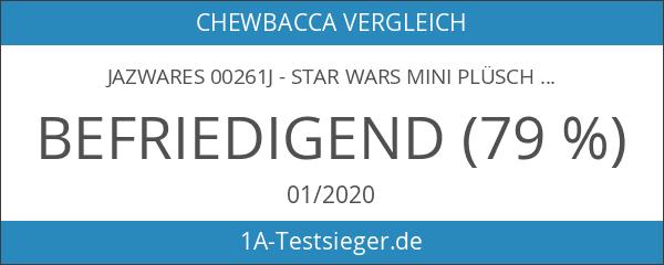 Jazwares 00261J - Star Wars Mini Plüschfigur mit Sound und