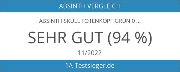 Absinth Skull Totenkopf Grün 0