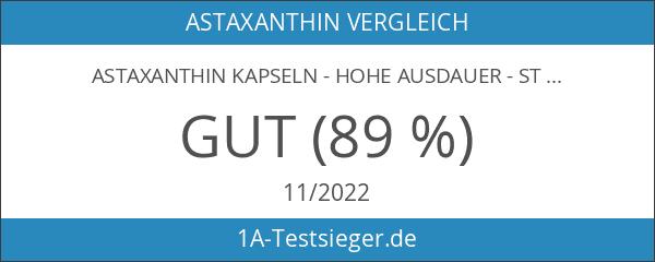 Astaxanthin Kapseln - Hohe Ausdauer - Stärker als Coenzym Q10