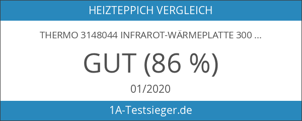 Thermo 3148044 Infrarot-Wärmeplatte 300 x 600 mm