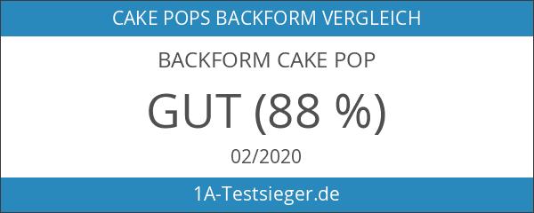 Backform Cake Pop