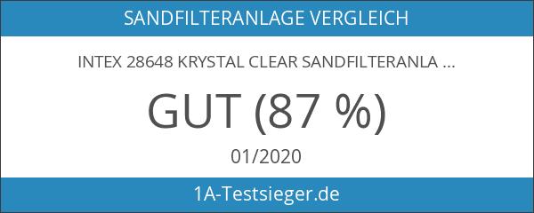 Intex 28648 Krystal Clear Sandfilteranlage 8 m³