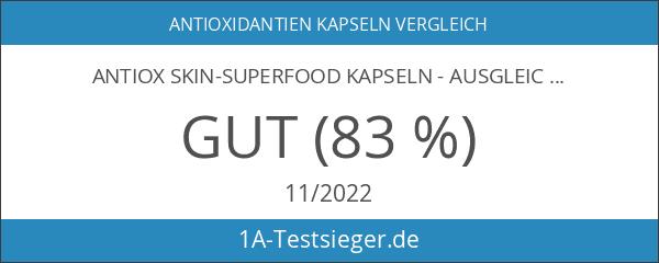 ANTIOX Skin-Superfood Kapseln - AUSGLEICH - 46 Antioxidantien uvm. für