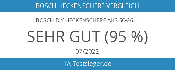 Bosch DIY Heckenschere AHS 50-26