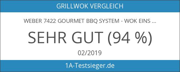 Weber 7422 Gourmet BBQ System - Wok Einsatz