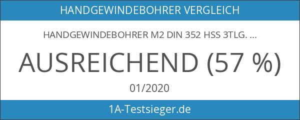 Handgewindebohrer M2 DIN 352 HSS 3tlg.