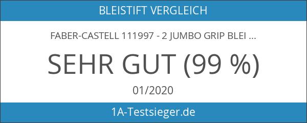 Faber-Castell 111997 - 2 Jumbo GRIP Bleistifte