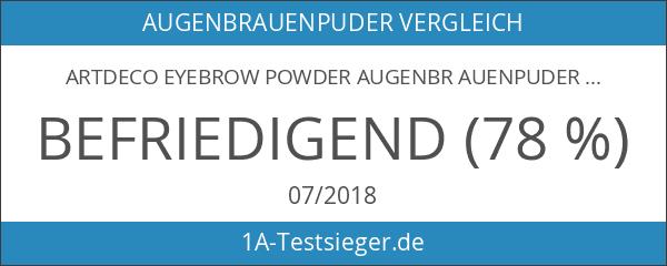 Artdeco Eyebrow Powder Augenbr auenpuder Nr.2 dark 0.8 g