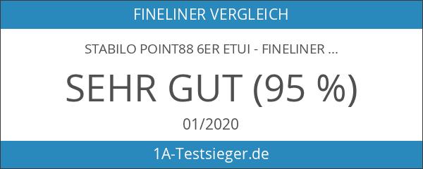 STABILO point88 6er Etui - Fineliner