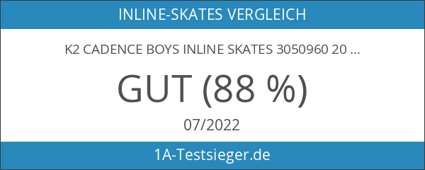 K2 Cadence Boys Inline Skates 3050960 2016 - Blau