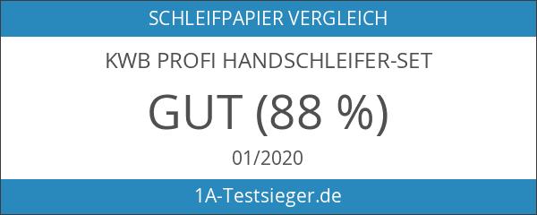 KWB Profi Handschleifer-Set
