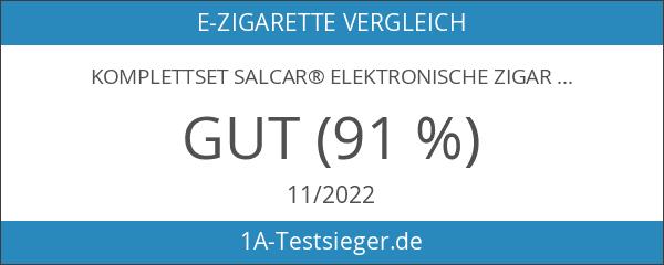 Komplettset Salcar® Elektronische Zigarette E-Zigarette Doppelset und Premium E-liquid