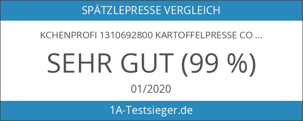 Kchenprofi 1310692800 Kartoffelpresse Comfort