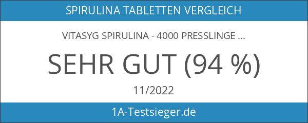 Vitasyg Spirulina - 4000 Presslinge