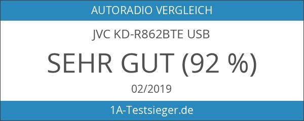 JVC KD-R862BTE USB
