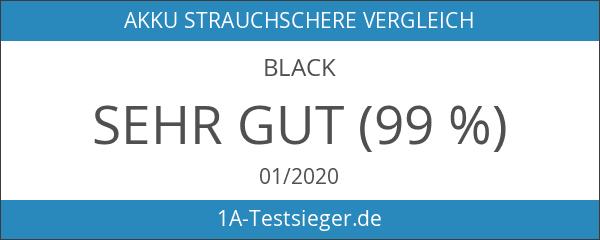 Black+Decker Akku Heckenschere GTC18502PC mit Antiblockierfunktion