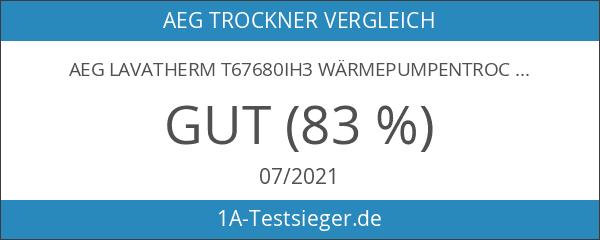 AEG Lavatherm T67680IH3 Wärmepumpentrockner