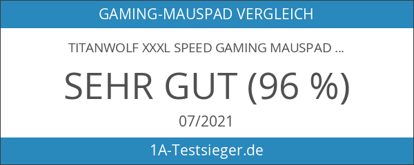 Titanwolf XXXL Speed Gaming Mauspad
