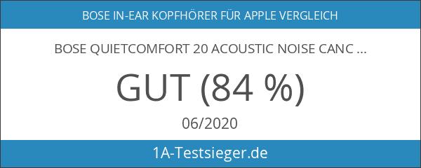 Bose QuietComfort 20 Acoustic Noise Cancelling Kopfhörerfür Apple Gerät schwarz