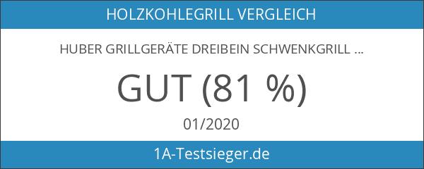 Huber Grillgeräte Dreibein Schwenkgrill inkl. 45 cm Rost