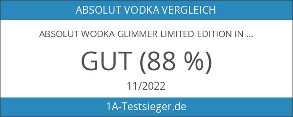 Absolut Wodka Glimmer Limited Edition in edlem Diamanten Design