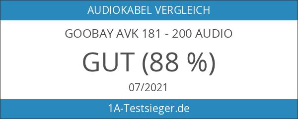 Goobay AVK 181 - 200 Audio