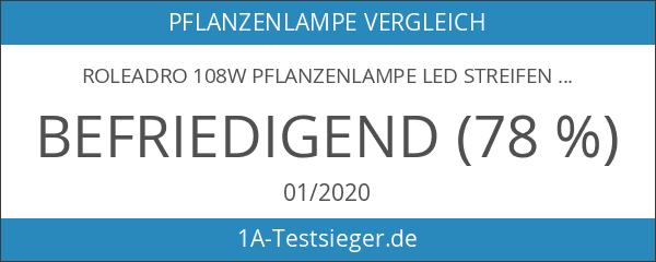 Roleadro 108w Pflanzenlampe LED Streifen Bar für Gewächshaus Planze Wachsen