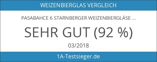 Pasabahce 6 Starnberger Weizenbiergläser 405ml