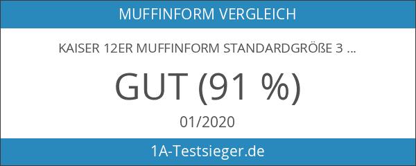 KAISER 12er Muffinform Standardgröße 38 x 27 x 3 cm