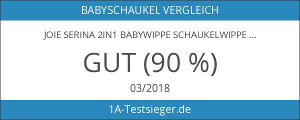 Joie Serina 2in1 Babywippe Schaukelwippe Babyschaukel Denim