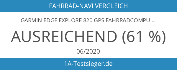 Garmin Edge Explore 820 GPS Fahrradcomputer inkl. Aero Lenkerhalterung 2017