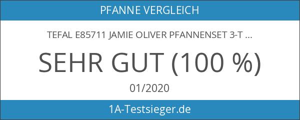 Tefal E85711 Jamie Oliver Pfannenset 3-teilig