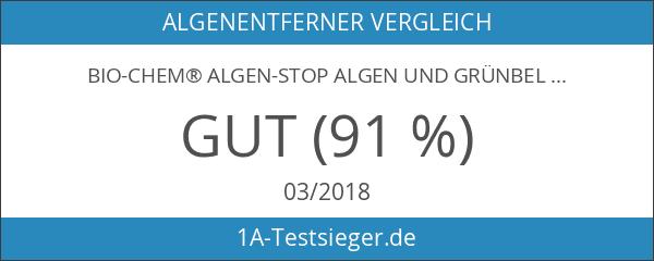 bio-chem® ALGEN-STOP Algen und Grünbelag Entferner SUPER-SPAR Konzentrat