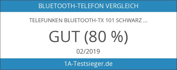 Telefunken BLUETOOTH-TX 101 schwarz