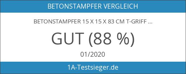 BETONSTAMPFER 15 x 15 x 83 cm T-Griff