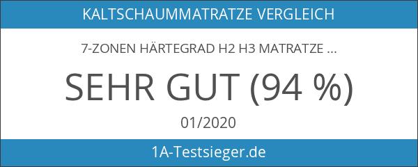 7-Zonen Härtegrad H2 H3 Matratze