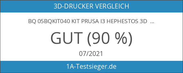BQ 05BQKIT040 Kit Prusa i3 Hephestos 3D Drucker