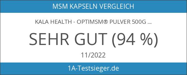 Kala Health - OptiMSM® Pulver 500g