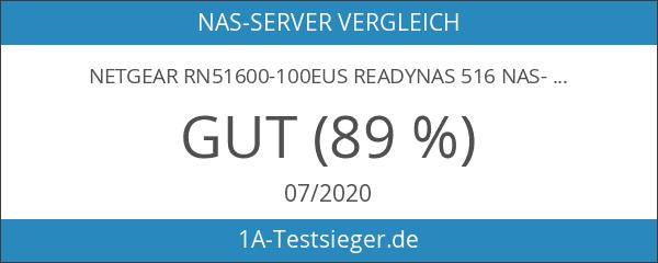 NETGEAR RN51600-100EUS ReadyNAS 516 NAS-System