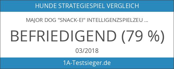 """MAJOR DOG """"Snack-Ei"""" Intelligenzspielzeug Hundespielzeug robust & schadstofffrei TÜV geprüft"""