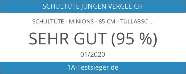 Schultüte - Minions - 85 cm - Tüllabschluß - Zuckertüte