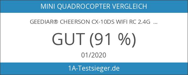 GEEDIAR® Cheerson CX-10ds WIFI RC 2.4G 4CH 6 Achse Handy-Steuerung