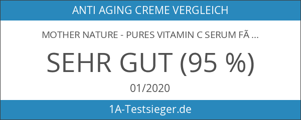 Mother Nature - Pures Vitamin C Serum für das Gesicht