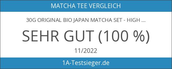 30g original BIO JAPAN Matcha Set - High Class -