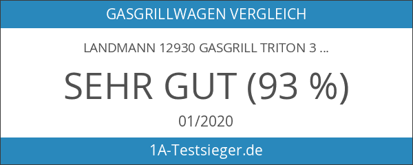 Landmann 12930 Gasgrill triton 3