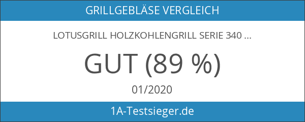 LotusGrill Holzkohlengrill Serie 340