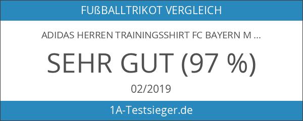 adidas Herren Trainingsshirt FC Bayern München Trikot Home