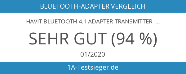 HAVIT Bluetooth 4.1 Adapter Transmitter Empfänger 2-In-1 Wireless Stereo Audio