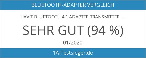 HAVIT Bluetooth 4.1 Adapter Transmitter Empfänger 2-In-1 Wireless Stereo Audio